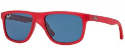 Gafas Junior - Ray-Ban® Junior Collection - RJ9057S - 197/80 RED DEMISHINY // BLUE