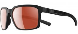Sunglasses - Adidas - AD42 EVOLVER 3D _F - 9000 BLACK MATTE // LST™ ACTIVE SILVER