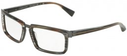 Frames - Alain Mikli - A02016 - B09H WIRES BROWN GREY