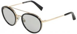 Frames - Alain Mikli - A02027 DALOU - 005 BLUE POINTILLE LIGHT GOLD // GREY WASH