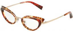 Frames - Alain Mikli - A02029 PAVEE - 001 HAVANA RED WITH LIGHT GOLD