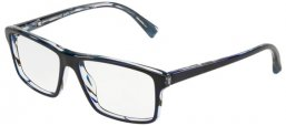Frames - Alain Mikli - A03065 - 004 DENIM FRONT BLUE WAVES