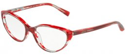 Frames - Alain Mikli - A03081 - 001 TOP BLACK RED