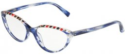 Monturas - Alain Mikli - A03081 - 005 DAMIER RED GREY PAINT BLUE