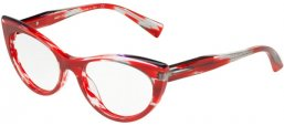 Frames - Alain Mikli - A03087 - 001 BLACK CRYSTAL BLACK RED