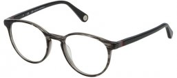 Frames - Carolina Herrera - VHE766 - 01EX GREY SPOTTED