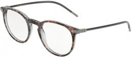 Frames - Dolce & Gabbana - DG3303 - 3183 TOP GREY HAVANA ON GREY TRANSPARENT
