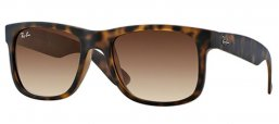Sunglasses - Ray-Ban® - Ray-Ban® RB4165 JUSTIN - 710/13 MATTE LIGHT  HAVANA  // BROWN GRADIENT