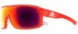 Sunglasses - Adidas - AD01 ZONYK PRO L - 6050 MATTE RED // RED MIRROR