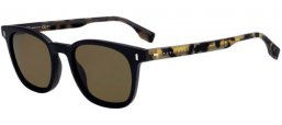 Gafas de Sol - Hugo Boss (BOSS) - BOSS 0970/S - 003 (70)  MATTE BLACK // BROWN