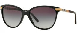 Sunglasses - Burberry - BE4216 - 30018G BLACK // GREY GRADIENT