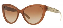 Sunglasses - Burberry - BE4220 - 357513 MATTE BROWN // BROWN GRADIENT
