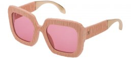 Sunglasses - Carolina Herrera New York - SHN600  - 9LHM  MATTE BEIGE // PINK