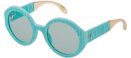 Sunglasses - Carolina Herrera New York - SHN601  - M81M  MATTE AZURE // BLUE