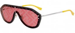 Sunglasses - Fendi - FF M0039/G/S - KB7 (7Y)  GREY // GOLD DECORED