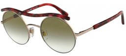 e315560835 Gafas de Sol - Giorgio Armani - AR6082 - 30118E ROSE GOLD // GREEN GRADIENT