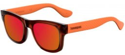 Gafas de Sol - Havaianas - PARATY/M - 22D (UZ)  BROWN OCHRE // RED MULTILAYER