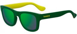 Gafas de Sol - Havaianas - PARATY/M - GP7 (Z9)  GREEN YELLOW // GREEN MULTILAYER