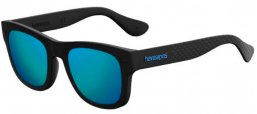 Gafas de Sol - Havaianas - PARATY/M - O9N (Z0)  BLACK // BLUE MULTILAYER