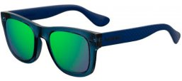 Gafas de Sol - Havaianas - PARATY/M - PJP (Z9)  BLUE // GREEN MULTILAYER