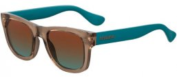 Gafas de Sol - Havaianas - PARATY/M - XL7 (98)  BROWN GREEN // BROWN TEAL