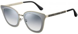 Sunglasses - Jimmy Choo - LORY/S - 3YG (IC)  LIGHT GOLD // GREY GRADIENT SILVER MIRROR