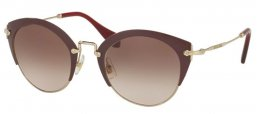 Gafas de Sol - Miu Miu - SMU 53RS - UA50A6 AMARANTH PALE GOLD // BROWN GRADIENT