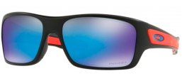 Frames Junior - Oakley Junior - TURBINE XS OJ9003 - 9003-11 MATTE BLACK // PRIZM SAPPHIRE