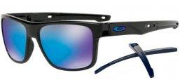 Gafas de Sol Oakley CROSSRANGE OO9361 936106 MATTE BLACK    PRIZM ... f14483474b