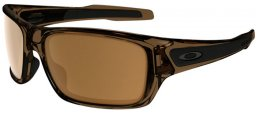 Lunettes Junior - Oakley Junior - TURBINE XS OJ9003 - 9003-02 BROWN SMOKE // DARK BRONZE