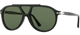 Sunglasses - Persol - PO3217S - 95/31 BLACK // GREEN