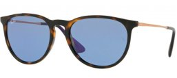Sunglasses - Ray-Ban® - Ray-Ban® RB4171 ERIKA - 639276 HAVANA // BLUE