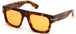 a8810ec504 Gafas de Sol - Tom Ford - FAUSTO FT0711 - 56E DARK HAVANA // LIGHT