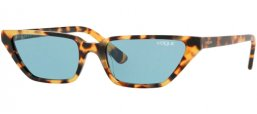 Sunglasses - Vogue - VO5235S - 260580 BROWN YELLOW TORTOISE // BLUE