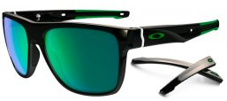 Gafas de Sol - Oakley - OO9360 CROSSRANGE XL - 936002 POLISHED BLACK // JADE IRIDIUM