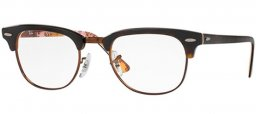 Frames - Ray-Ban® - RX5154 CLUBMASTER - 5650 HAVANA ON TEXTURE CAMUFLAGE