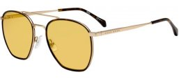 Lunettes de soleil - BOSS Hugo Boss - BOSS 1090/S - CGS (UK) LIGHT GOLD HAVANA // YELLOW PHOTOCROMIC