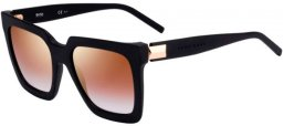 Lunettes de soleil - BOSS Hugo Boss - BOSS 1152/S - 003 (JL) MATTE BLACK // BROWN GRADIENT GOLD MIRROR