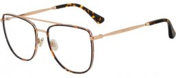 Frames - Jimmy Choo - JC250 - 06J  GOLD HAVANA