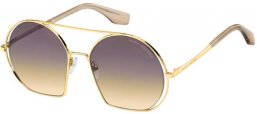 Sunglasses - Marc Jacobs - MARC 325/S - HAM (GA) GOLD CHAMPAGNE // BROWN OCHRE GRADIENT