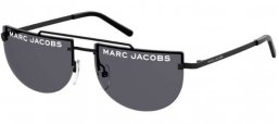 Sunglasses - Marc Jacobs - MARC 404/S - 003 (IR) MATTE BLACK // GREY