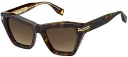 Sunglasses - Marc Jacobs - MJ 1001/S - KRZ (HA) HAVANA CRYSTAL // BROWN GRADIENT