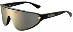 Sunglasses - Moschino - MOS061/S - J5G (UE) GOLD // GREY IVORY MIRROR