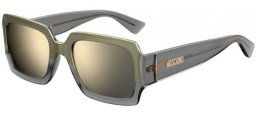 Sunglasses - Moschino - MOS063/S - KB7 (UE) GREY // GREY IVORY MIRROR