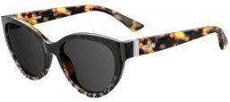 Sunglasses - Moschino - MOS065/S - PUU (IR) ANIMAL HAVANA // GREY