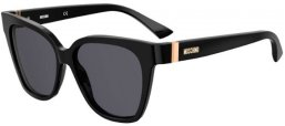 Sunglasses - Moschino - MOS066/S - 807 (IR) BLACK // GREY