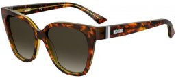 Sunglasses - Moschino - MOS066/S - HJV (HA) HAVANA YELLOW // BROWN GRADIENT