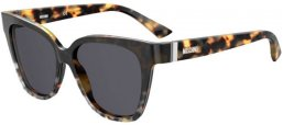 Sunglasses - Moschino - MOS066/S - PUU (IR) ANIMAL HAVANA // GREY