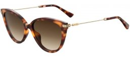 Sunglasses - Moschino - MOS069/S - 05L (HA) HAVANA GOLD // BROWN GRADIENT