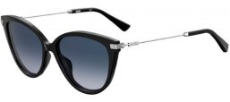 Sunglasses - Moschino - MOS069/S - CSA (DG) BLACK PALLADIUM // GREY GRADIENT
